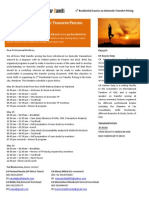 BVSS - 1st Intensive Residential Course on Domestic Transfer Pricing