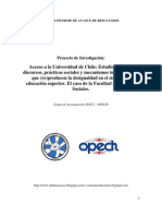 Primer Informe de Avance Inv Acceso Mayo 2010
