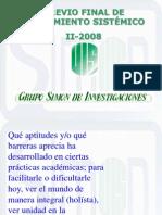 Previo Final II 2008
