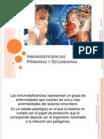 Inmunodeficiencias Primarias y Secundarias Inmuno
