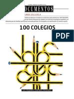 Ranking 100 Mejores Colegios 2013