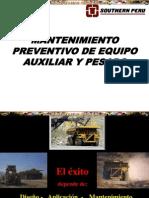 Curso Mantenimiento Preventivo Equipo Pesado Auxiliar