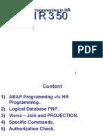 HR Programming