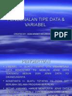 Pen Gen Alan Tipe Data & Variabel(4)