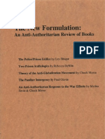 The New Formulation - Vol 1, No 1The New Formulation