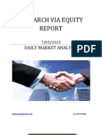 Equity Report Today 07 May 2013