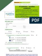 Info Donativo de fundación madrina