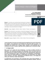 Évolution ethnique et dialectes du Maghreb