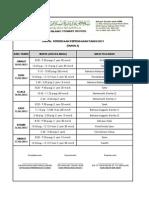 Jadual Peperiksaan Pertengahan Tahun (THN 5)