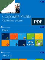 Cem Corporate Brochure