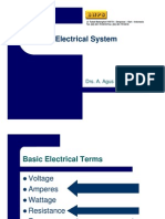 Hotel Engineering Training Electrical System