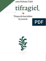 Antifragiel - Nassim Nicholas Taleb (leesfragment)