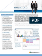 Microsoft Dynamics AX-2012 - Preview