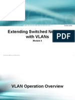 Extending Switch Network With Vlan's