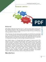 Internship Report 2008