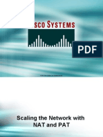Scaling the Network With Nat and Pat