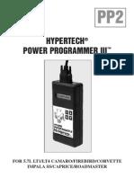 hypetech power programer