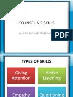 Counseling Skills EDU 3104