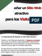 Como diseñar un sitio web atractivo para los visitantes