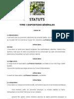 Statuts-La France à l'Unisson-V2013