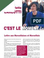 Lettre aux Marseillais de Marie-Arlette Carlotti