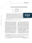Learners' choices and beliefs about self-testing