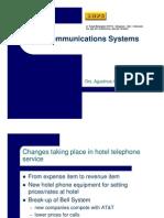 Hotel Engineering Training Telecommunications