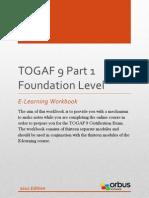 TOGAF 9 Part 1 Foundation Level E-Learning Workbook
