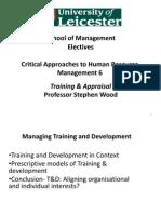 6- Training & Appraisal