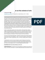 Dennis Marasigan on the Science of Arts Marketing