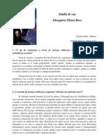 Studiu de Caz - Glengarry Glen Rose