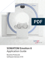 SOMATOM Emotion 6 Routine VA70