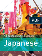139438126 the Rough Guide Phrasebook Japanese