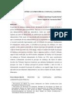A ADMINISTRAÇÃO PUBLICA E O PRINCIPIO DA BOA FÉ