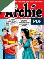 Archie Comic Book Pdf