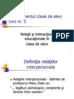 Relatii Educationale