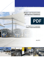 FTA Project and CM Guidelines - July 2011 Update 12-01-26