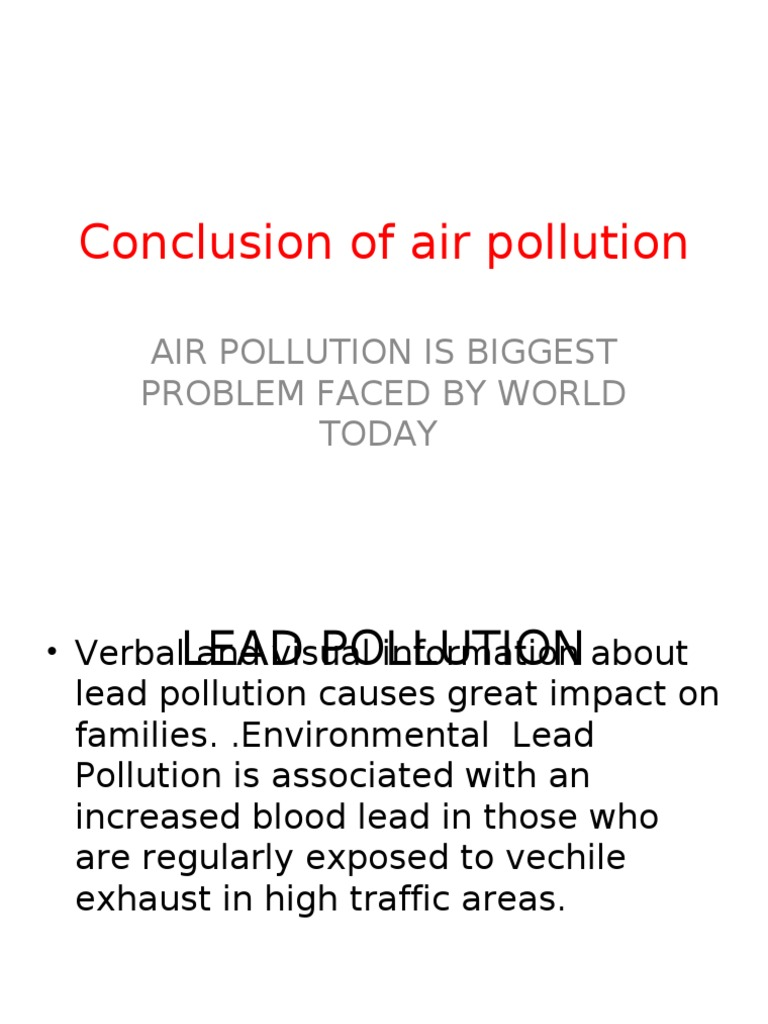 pollution essay conclusion air pollution essay templates  conclusion of air pollution