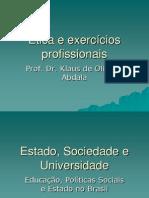 Ética e exercícios profissionais2