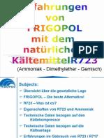 R723 Frigopol Presentation