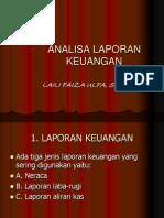 Bab 2 Analisa Laporan Keuangan