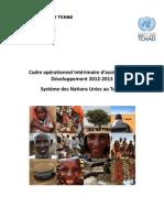 Cadre opérationnel Intérimaire d'assistance au Développement, Nations Unies au Tchad