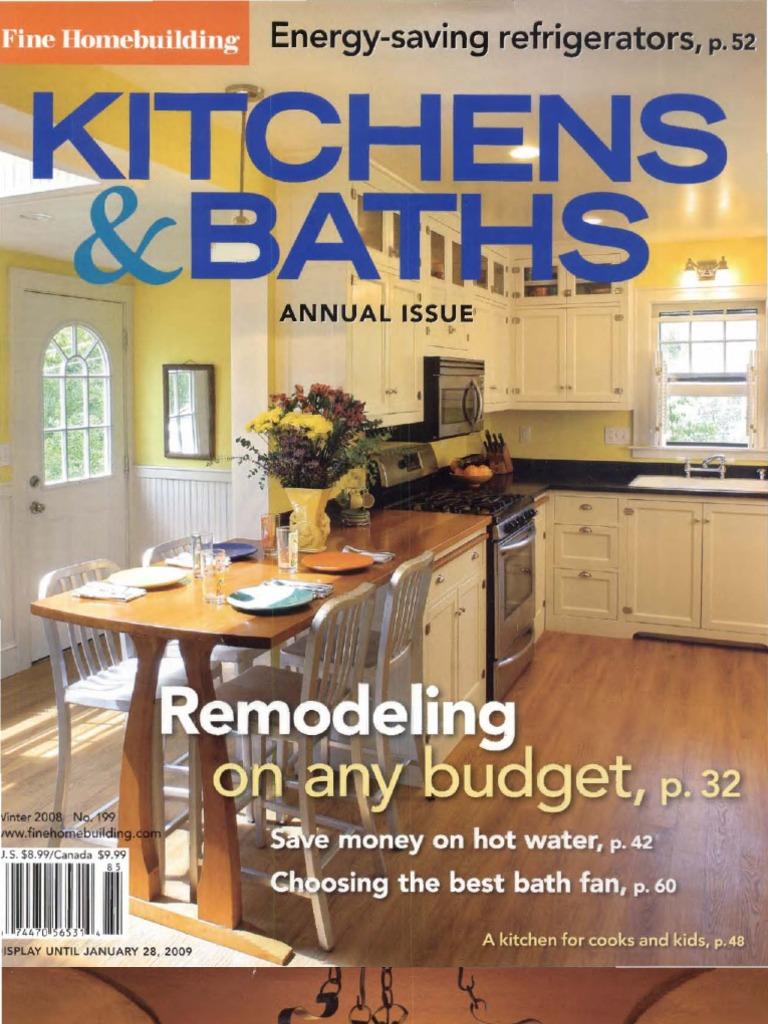 Fine Homebuilding - Special Issue Kitchens & Baths (Malestrom ...