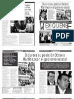 Versión impresa del periódico El mexiquense 7 mayo 2013