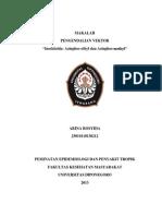 Arina Rosyida 25010110130212 Pengendalian Vektor Azinfos Etil Metil