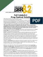 Celebr8 Final Press Release