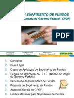 Manual Suprimento de Fundos