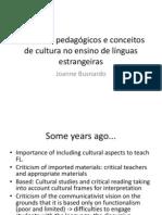 Busnardo Contextos pedagógicos e conceitos de cultura no ensino