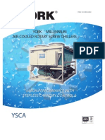 York Millienium Air Cooled Screw Chiller Catalogue