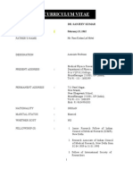 B_d_ Sanjeev Kumar Date of Modification 17-12-2012